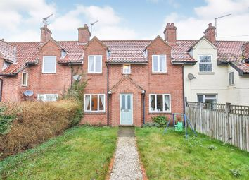 Thumbnail 3 bed terraced house for sale in School Road, Holme Hale, Thetford