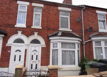 Thumbnail 3 bedroom terraced house to rent in Alexandra Road, Wellingborough