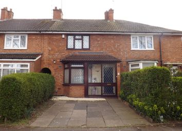 Thumbnail 3 bed terraced house for sale in Ashbrook Grove, Birmingham