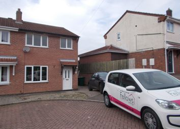 Thumbnail 3 bedroom semi-detached house to rent in Wheatlands, Swadlincote