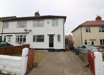 Thumbnail 3 bedroom semi-detached house for sale in Brook Road, Great Sutton, Ellesmere Port