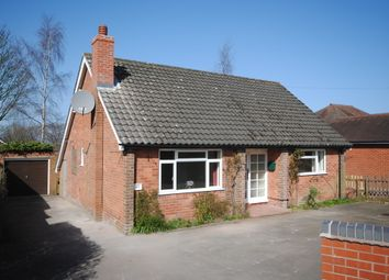 Thumbnail 2 bed detached bungalow to rent in The Sidings, Frogmore Road, Market Drayton