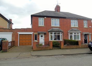 Thumbnail 3 bed semi-detached house for sale in Mitford Road, Morpeth