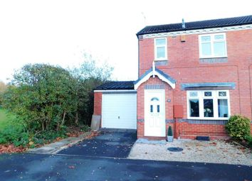 Thumbnail 3 bed semi-detached house for sale in Barker Close, Castlefields, Stafford