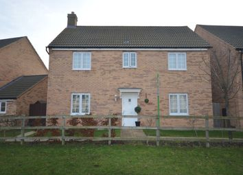 Thumbnail 4 bed detached house for sale in Juniper Way, Witham St. Hughs, Lincoln