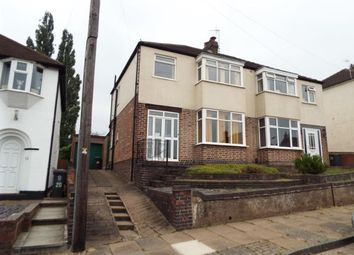 Thumbnail 3 bedroom semi-detached house for sale in Franklyn Road, Aylestone, Leicester, Leicestershire