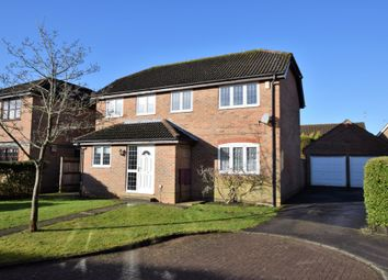 Thumbnail 4 bed detached house for sale in Tweedsmuir Close, Farnborough