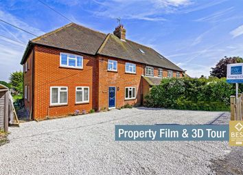 Thumbnail 4 bed semi-detached house for sale in Station Road, Berwick, Polegate