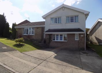 Thumbnail 4 bed detached house for sale in Ridgewood Gardens, Cimla, Neath