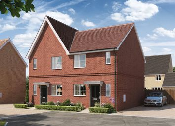 Thumbnail 2 bed semi-detached house for sale in The Orchards, Off Ipswich Road, Colchester Essex