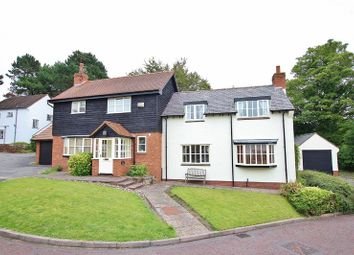 Thumbnail 4 bed detached house for sale in Tithbarn Close, Lower Heswall, Wirral