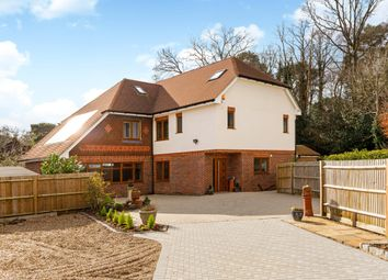 Thumbnail 5 bed detached house to rent in Farmhouse Close, Pyrford, Woking