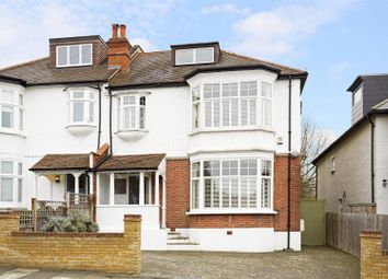 Thumbnail 5 bed semi-detached house for sale in Pepys Road, West Wimbledon