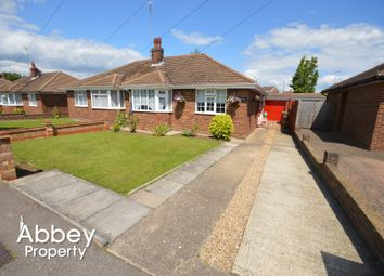 Thumbnail 2 bed semi-detached bungalow to rent in Vincent Road, Luton