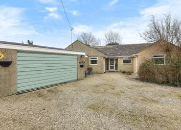 Thumbnail 4 bed detached bungalow for sale in Castle Eaton, Swindon