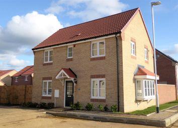 Thumbnail 3 bed detached house for sale in Blackwater Road, Barleythorpe, Oakham