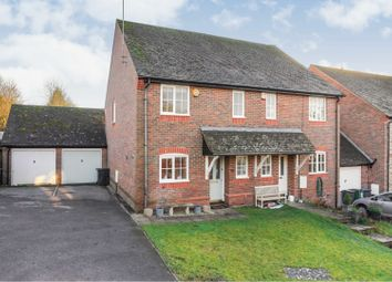 Thumbnail 3 bed semi-detached house for sale in Saunders Meadow, Marlborough