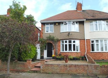 Thumbnail 3 bed semi-detached house for sale in Branksome Avenue, Kingsthorpe, Northampton