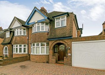 Thumbnail 3 bed semi-detached house for sale in Kingston Road, Ewell, Surrey