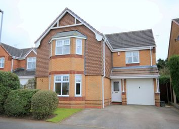 Thumbnail 4 bed detached house for sale in Arlington Way, Longton, Stoke-On-Trent