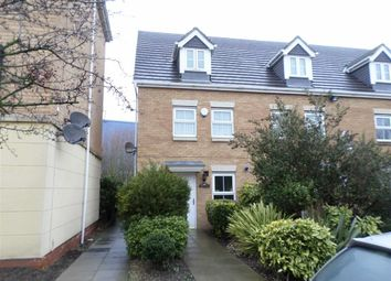 Thumbnail 3 bedroom town house to rent in Windermere Avenue, Purfleet