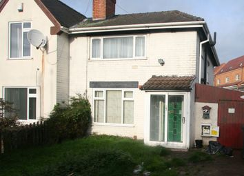 Thumbnail 3 bedroom semi-detached house to rent in Victoria Avenue, Bloxwich, Walsall