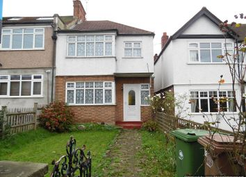Thumbnail 3 bed end terrace house to rent in Oldfields Road, North Cheam, Sutton