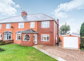 Thumbnail 5 bed semi-detached house for sale in London Road, Osbournby, Sleaford
