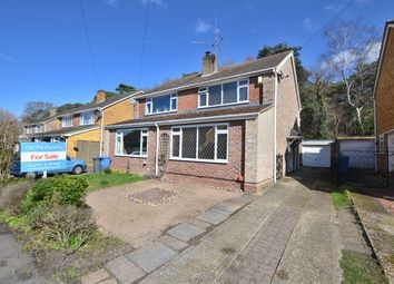Thumbnail 3 bed semi-detached house for sale in Heron Close, Church Crookham, Fleet