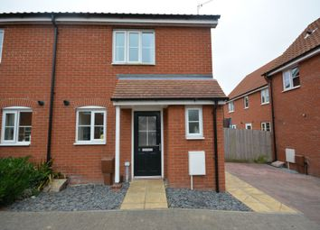 Thumbnail 2 bed semi-detached house for sale in Buttermere Way, Carlton Colville, Lowestoft