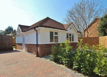 Thumbnail 1 bed detached bungalow for sale in The Coombes, Bramley, Guildford