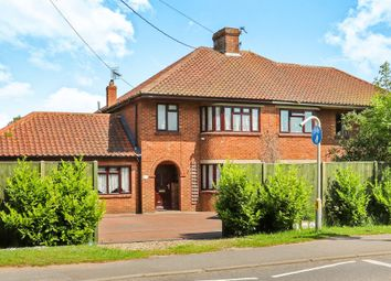 Thumbnail 3 bed semi-detached house for sale in Thetford Road, Watton, Thetford