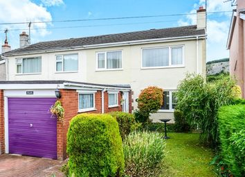 Thumbnail 3 bed semi-detached house for sale in Station Road, Llanddulas, Abergele