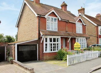 Thumbnail 3 bed semi-detached house for sale in Gloucester Road, Burgess Hill