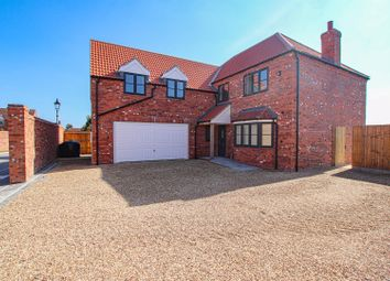 Thumbnail 5 bed detached house for sale in West Field Lane, Thorpe-On-The-Hill, Lincoln