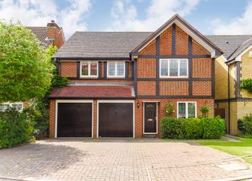 Thumbnail 4 bedroom detached house for sale in Nightingale Road, West Cheshunt, Hertfordshire