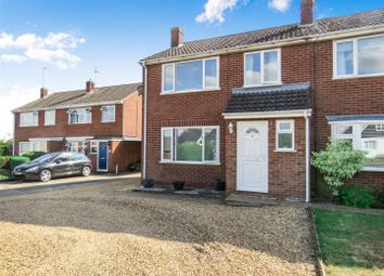 Thumbnail 3 bed semi-detached house for sale in Woodfield Avenue, Bury, Ramsey, Huntingdon