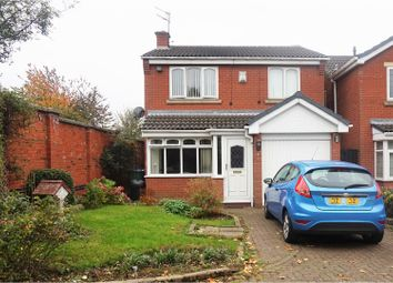 Thumbnail 3 bed detached house for sale in Calley Close, Tipton