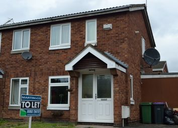 Thumbnail 2 bed semi-detached house to rent in Wroxeter Way, Stirchley, Telford