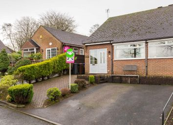 Thumbnail 2 bed semi-detached bungalow for sale in Morridge View, Cheddleton, Leek