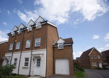 Thumbnail 4 bed town house for sale in Dexter Way, Winnersh, Wokingham, Berkshire