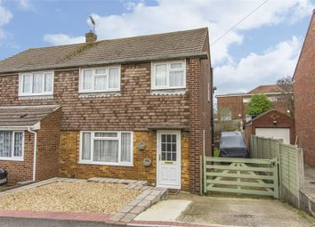 Thumbnail 3 bedroom semi-detached house for sale in Hilltop Drive, Sholing, Southampton, Hampshire