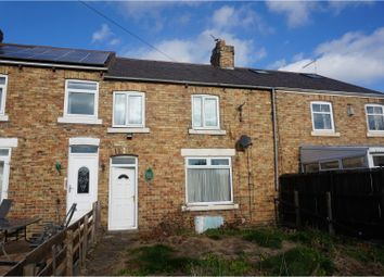 Thumbnail 3 bed terraced house for sale in First Row, Morpeth