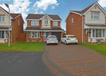 4 bed detached house for sale in Stokoe Drive, Ashington NE63