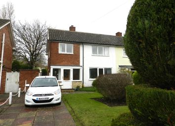 Thumbnail 3 bed semi-detached house to rent in Glebe Drive, Boldmere, Sutton Coldfield