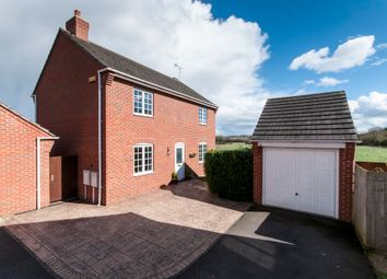 Thumbnail 4 bed detached house for sale in Glover Road, Castle Donington, Derby