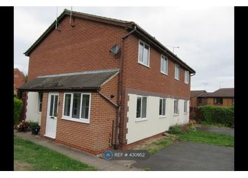 Thumbnail 1 bed end terrace house to rent in Heron Drive, Uttoxeter