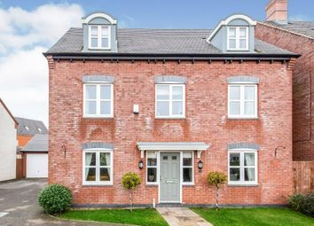 Thumbnail 5 bed detached house for sale in Usbourne Way, Ibstock, Leicestershire, Coalville
