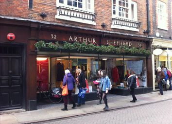 Thumbnail Retail premises to let in 32 Trinity Street, Cambridge