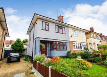 Thumbnail 3 bed semi-detached house for sale in Victoria Avenue, Collier Row, Romford